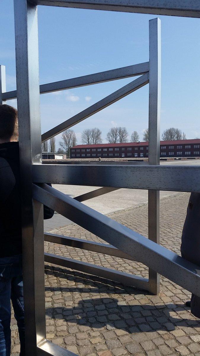 Eingang der KZ-Gedenkstätte Neuengamme #MemorialWalk https://t.co/LfmFTJoMWe
