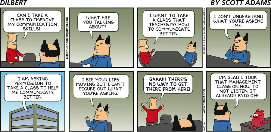 "KDnuggets on Twitter: ""Brilliant #Dilbert cartoon ..."