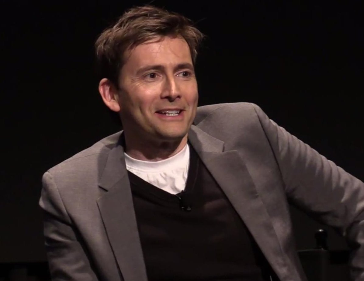 David Tennant at his Conversations On Broadway interview