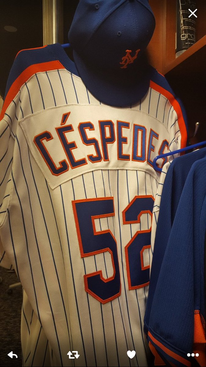 486654cf9 The other interesting thing there is that they included the accent on  Yoenis Céspedes s NOB (and