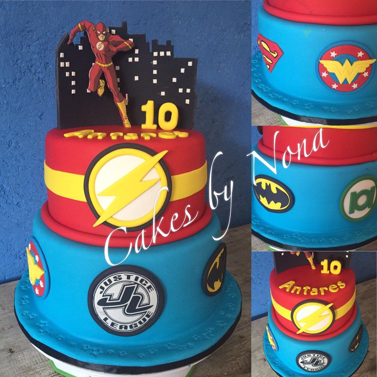 Prime Cakesbynona On Twitter Justice League Bday Cake Justiceleague Funny Birthday Cards Online Kookostrdamsfinfo