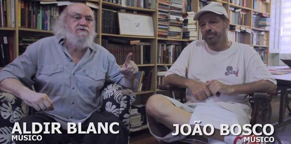 João Bosco e Aldir Blanc chamam para o ato pela democracia. Ouça Elis e acreditem no sol! - https://t.co/ke2uW69dcu