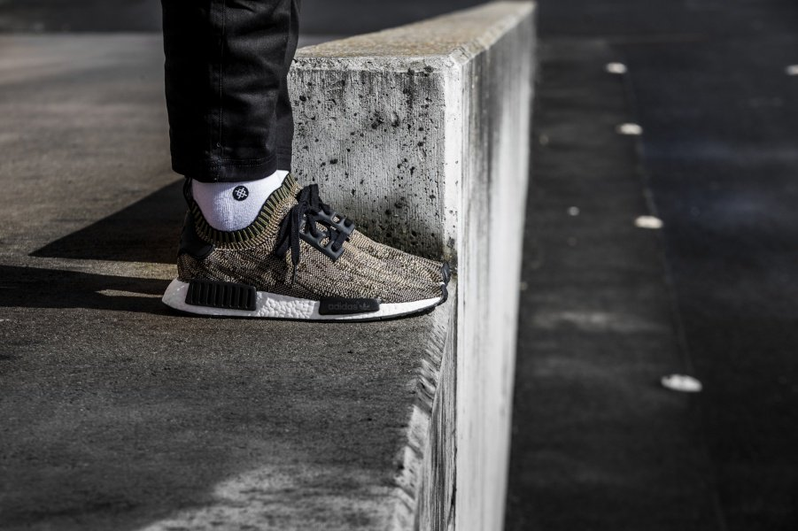 adidas NMD_R1 Olive Camo Sole By Style