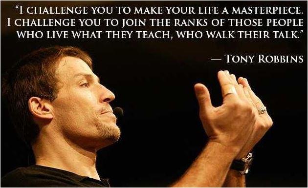 I challenge you. #TonyRobbins #Quotes #FridayMotivation #FridayThoughts
