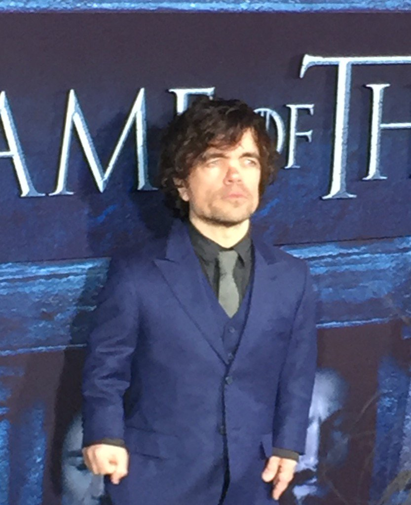 Peter Dinklage has arrived at the @GameOfThrones premiere https://t.co/1es3vsQwtc