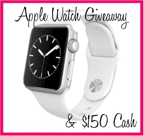 Apple Watch and $150 Cash #Giveaway https://t.co/ww5raKC38N   #AppleWatchgiveaway #AppleWatch #Cashgiveaway #GetFit https://t.co/XV1oyEp58d