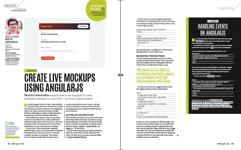 Create live mockups using @AngularJS: https://t.co/dpkGodI5DQ by @mgonto #angularjs #javascript #prototyping https://t.co/TH1dZX42GE