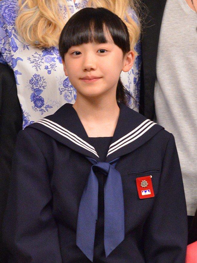 芦田愛菜のセーラー服