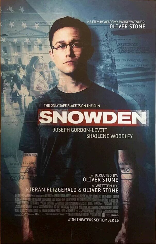 Image result for snowden poster