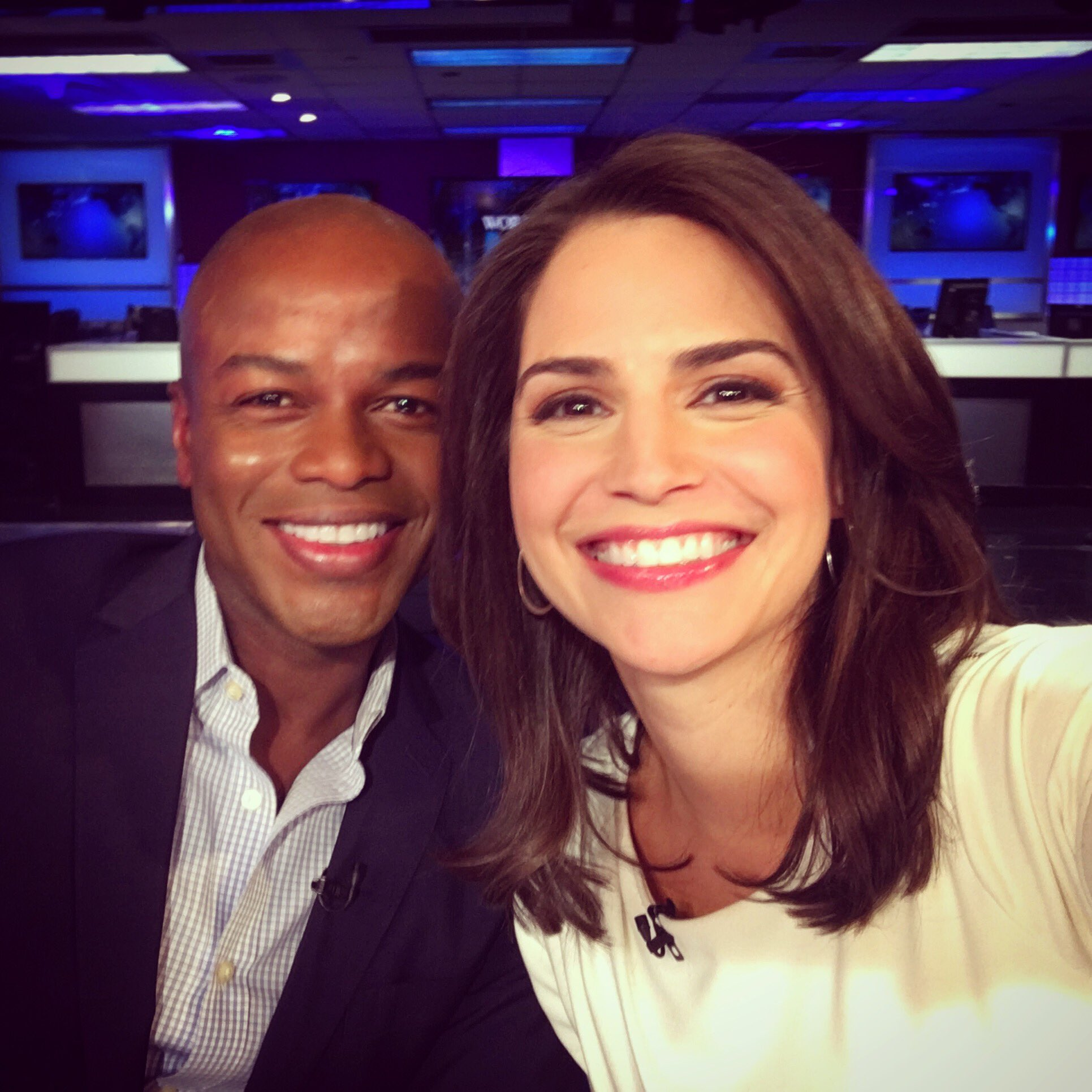 """Diane Macedo on Twitter: """"First co-anchor #selfie with ..."""