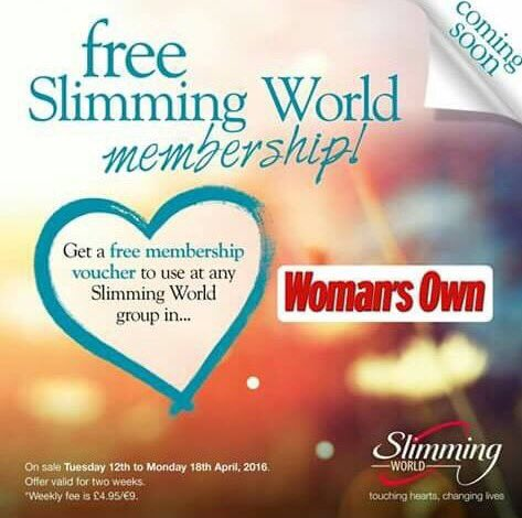 Slim with jackie sw tannochside twitter Slimming world offers 2016