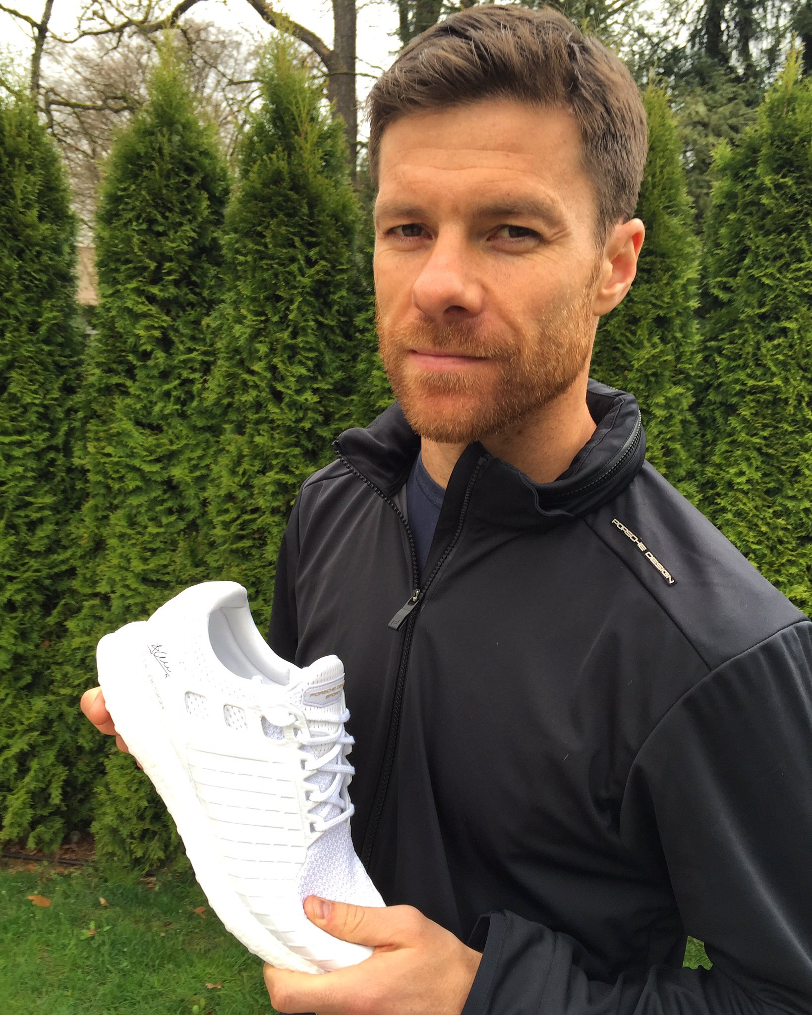 "Xabi Alonso on Twitter ""Just received my personalized all white"