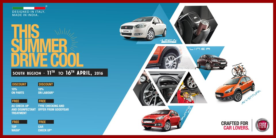 Fiat India On Twitter Stay Cool This Summer Visit Our - Nearest fiat dealer