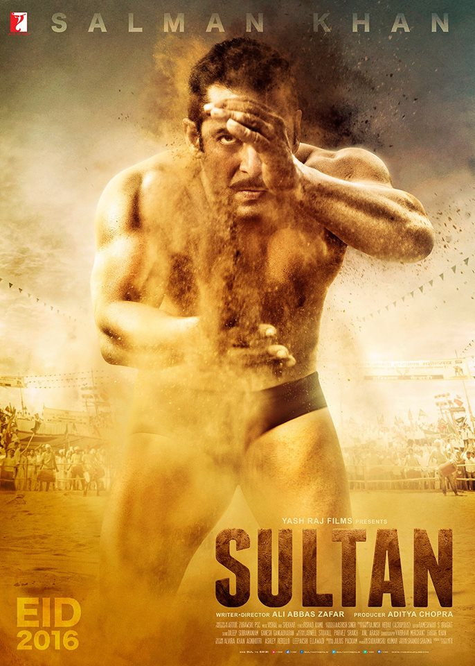 Sultan First Poster starring Salman Khan, Anushka Sharma