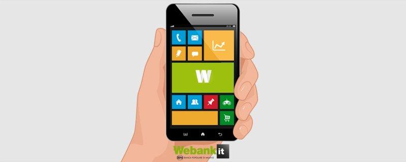 L'app Webank è ora disponibile per #WindowsPhone (versione 8.1 e superiori): scaricala qui > https://t.co/XKg8GP4oDS https://t.co/IP5d5mYrWt