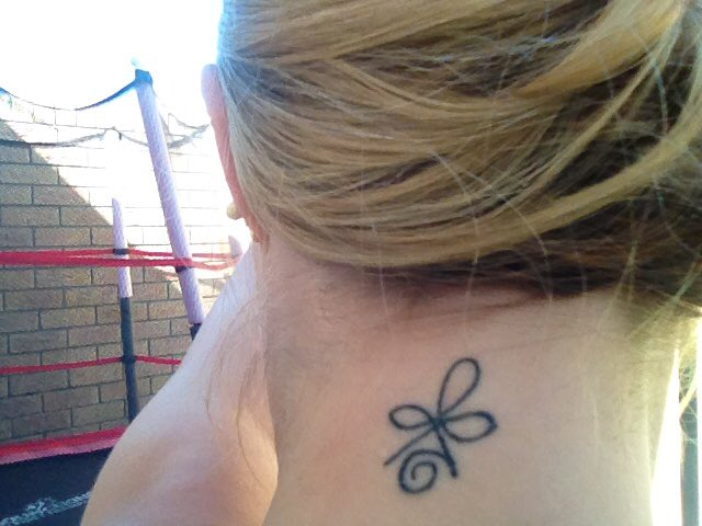 Eileen Le Roux On Twitter Love My New Tat Celtic Symbol For