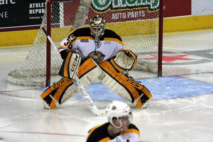 Congrats to #Gamblers G Adam Huska who broke the @ushl single season GAA record with a 1.82 GAA this season. https://t.co/pQeslJtU9V