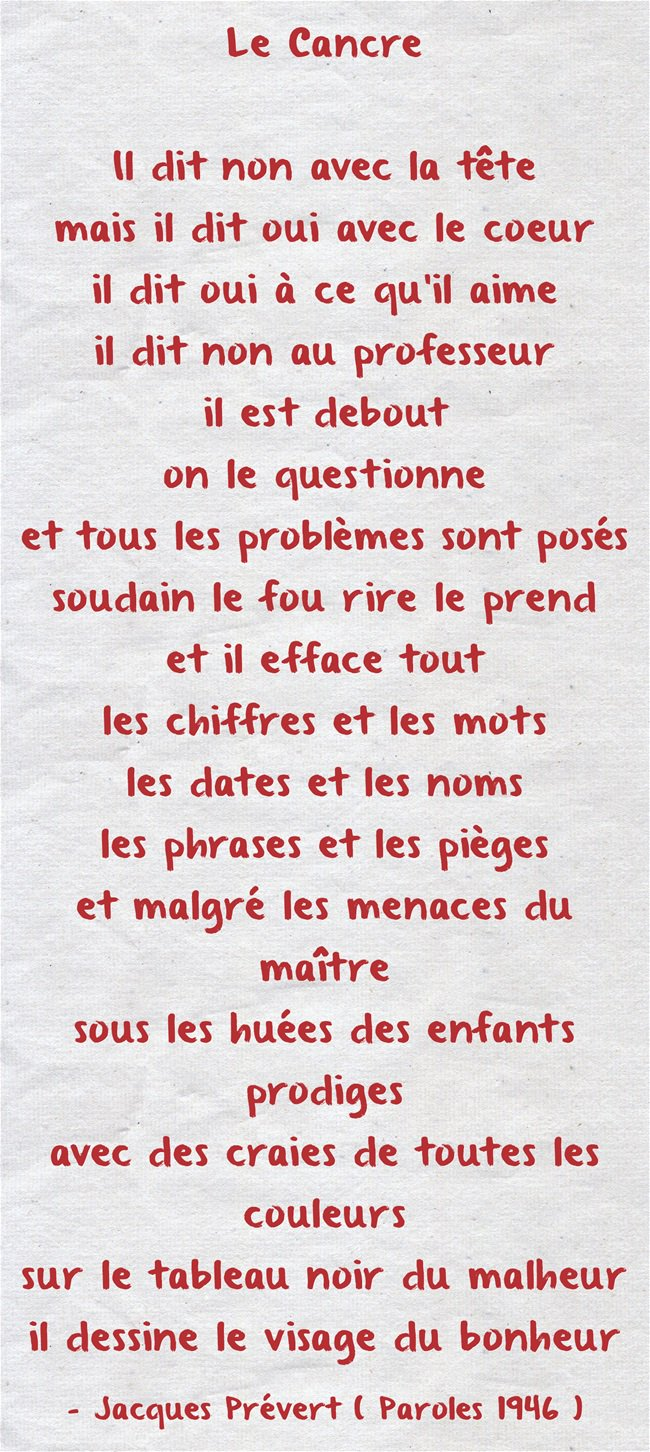 Idiomas On Twitter Rt At Mjosfle Le Cancre Jacques