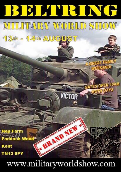 RT @MWshowuk: Join us for Military World Show @Hopfarm Paddock Wood, Kent! #tanks #military #vehicles #displays #event #show https://t.co/W…