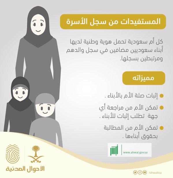 الأحوال المدنية Twitter પર سجل الأسرة للأمهات الأحوال المدنية Https T Co Xm2kao9w05