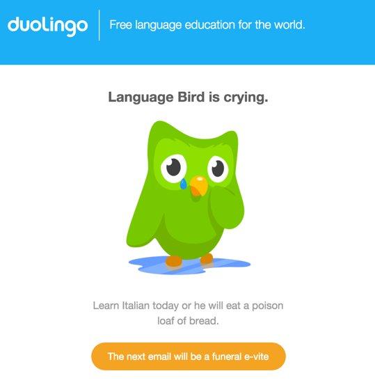 jesus christ @duolingo that's one hardcore email campaign https://t.co/ytoKE58uQW