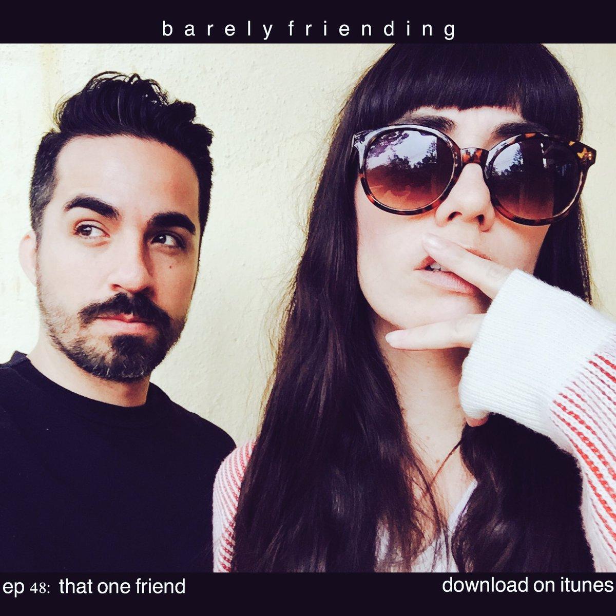 Barely friending