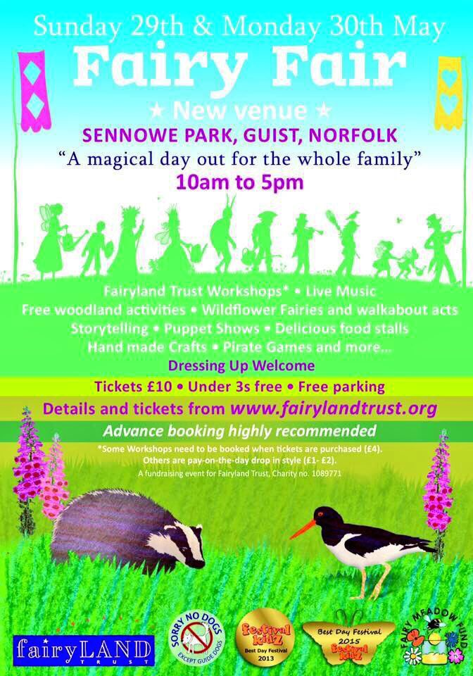 Our award winning Fairy Fair is just six weeks away, are you coming along? #children #family #nature #norwichhour https://t.co/J6w3ItfFtD