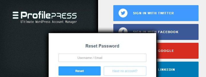 ProfilePress: A Free User Registration, Form Builder and Profile Plugin for Wor https://t.co/u8a9RuXmfC #WordPress https://t.co/2foddOGzHH
