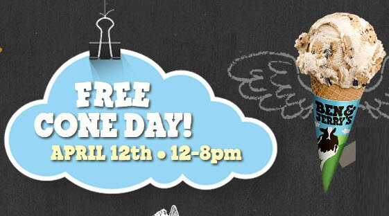 Ben and Jerry's Free Ice Cream