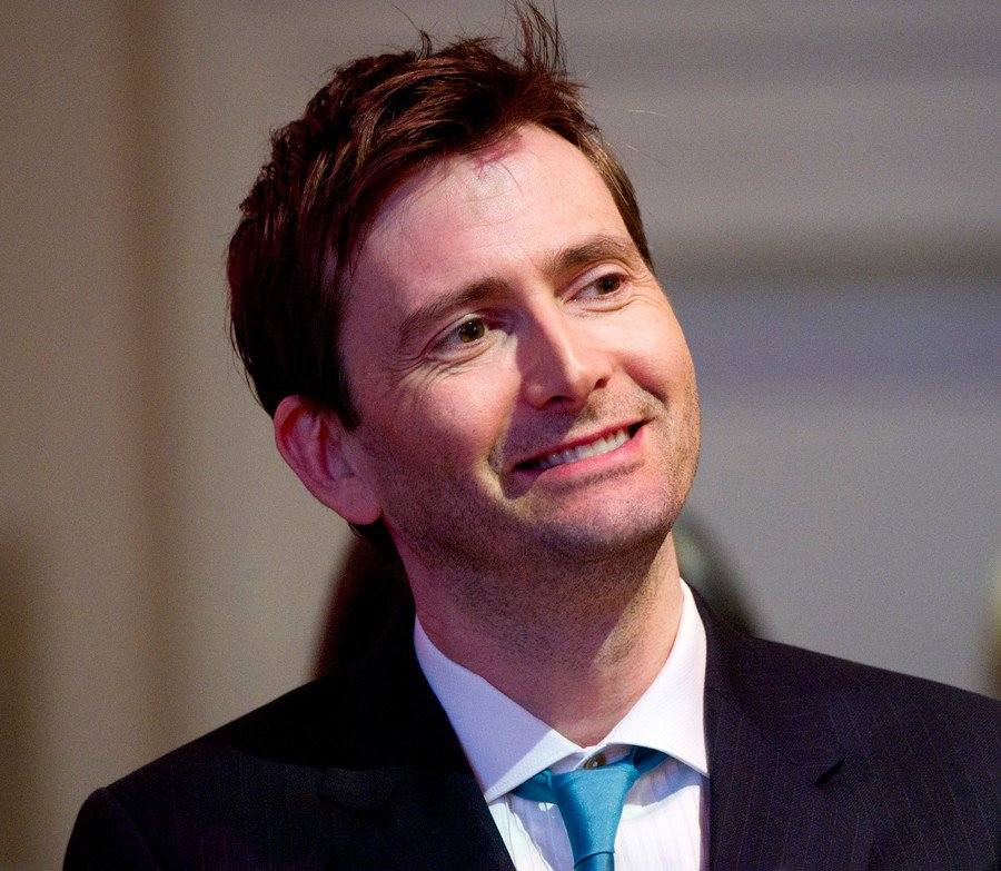 David Tennant at The RSC / BAM Brooklyn event on Sunday 3rd April