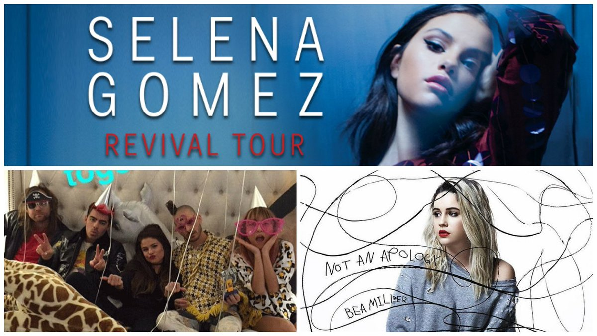 @BeaMiller and @DNCE are joining @selenagomez for her Revival Tour on May 10th!! TIX --> https://t.co/pjQAixz4nM https://t.co/hDiQXgY2Dm