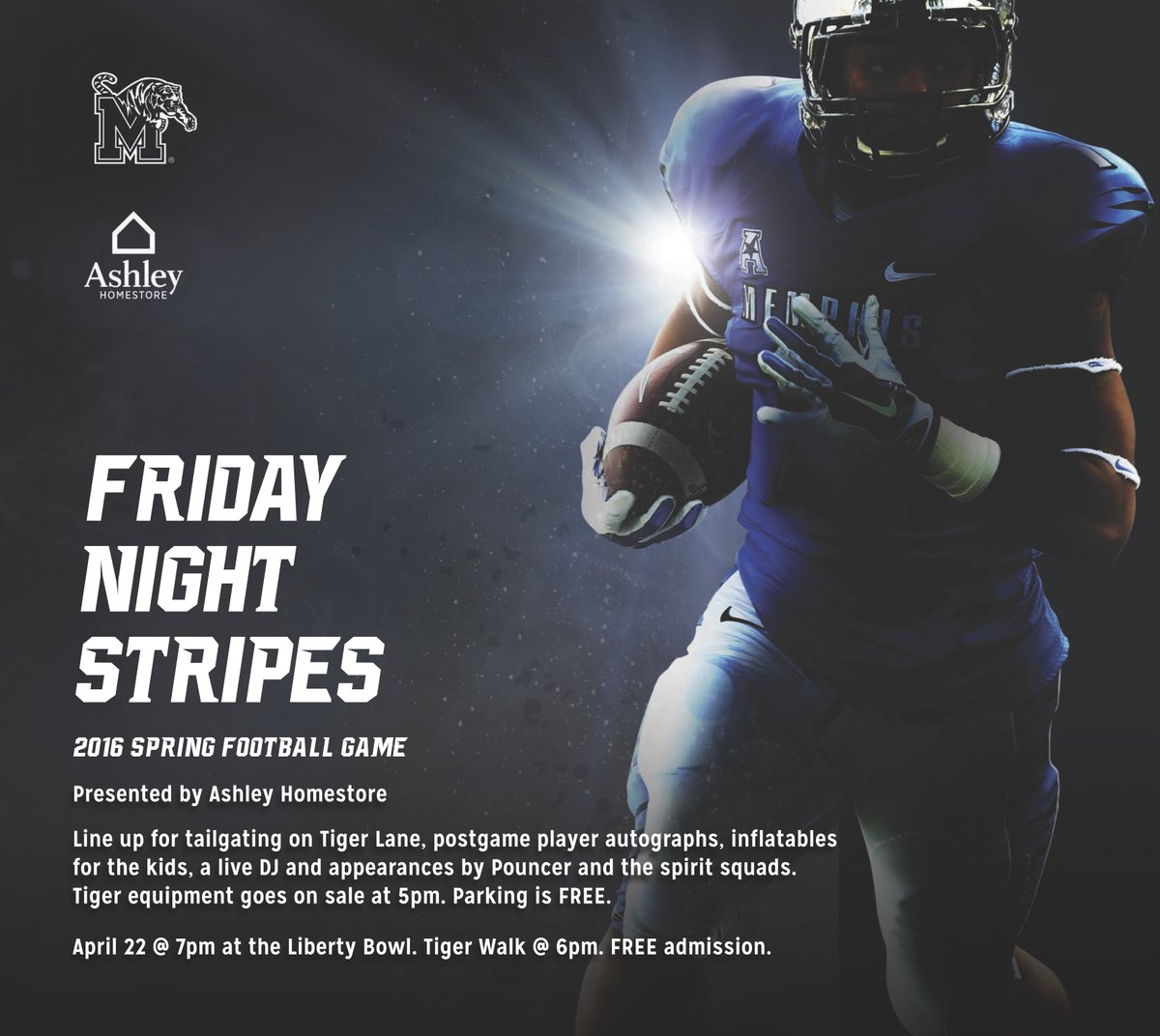 Memphis Tigers On Twitter Friday Night Stripes Is Back