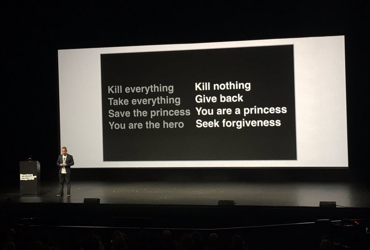 Great talk by @kenwongart at #BWDesign2016: here's how Monument Valley inverted traditional approaches to game story https://t.co/SULtCYGlSW