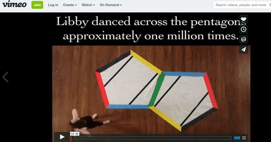 Dance your dissertation 2011