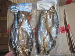 Pericolo botulino nel pesce essiccato provenienti dalla Russia