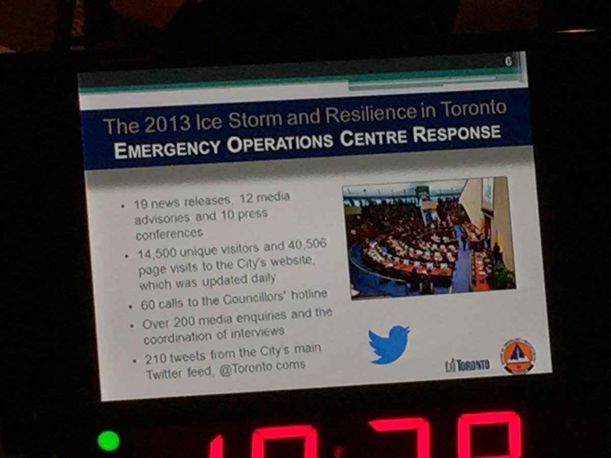 Information played a key role in dealing with the 2013 ice storm in #Toronto #CBoCResilience #smem #resilience https://t.co/ohyJIoZrHp