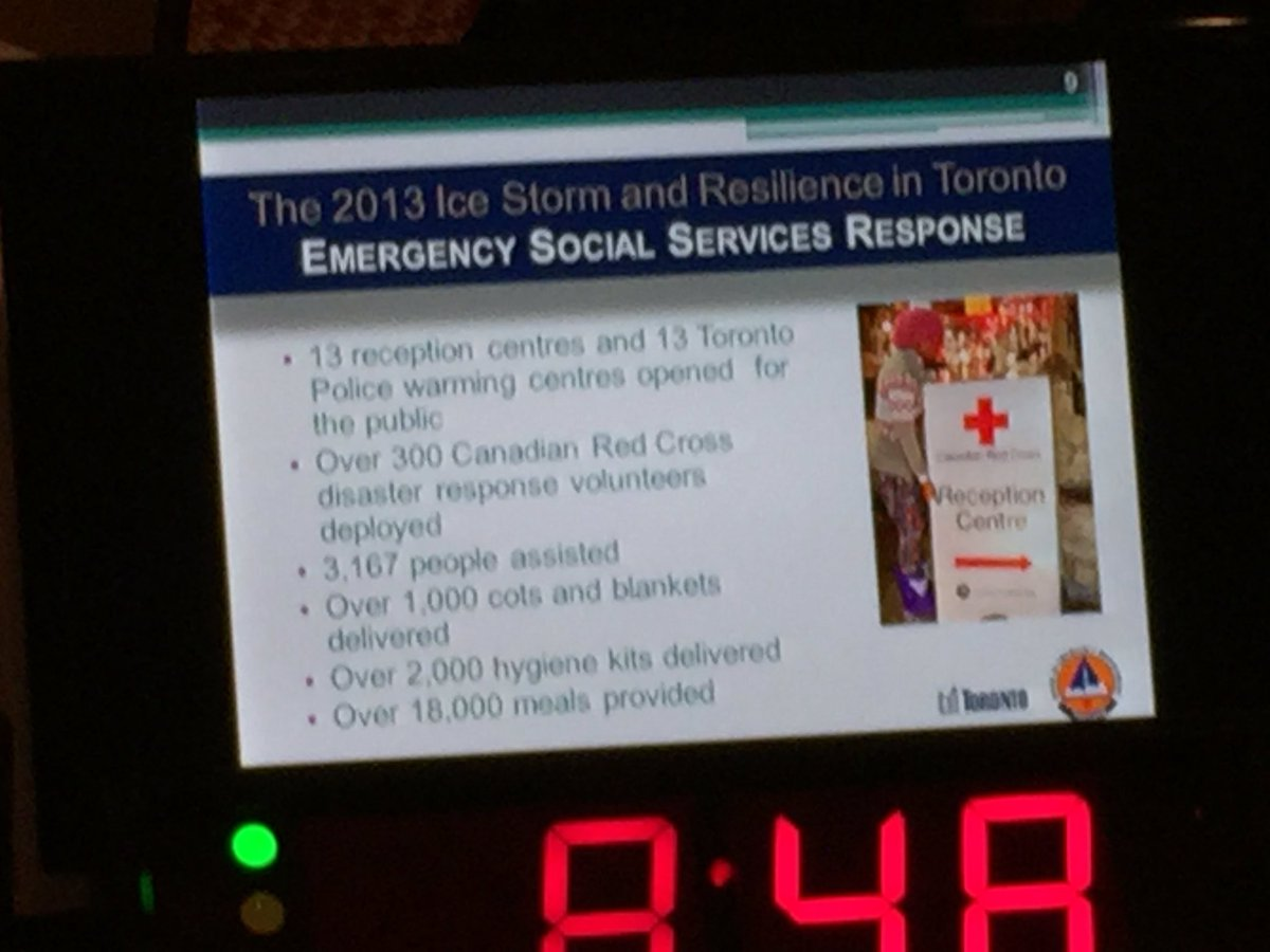 Emergency social services were also crucial on dealing with the 2013 ice storm in #Toronto #smem #CBoCResilience https://t.co/QcD62v5sc4