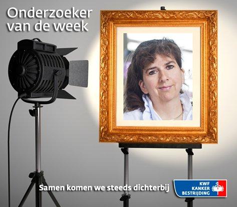 Eveline Bleiker 'Onderzoeker van de week'