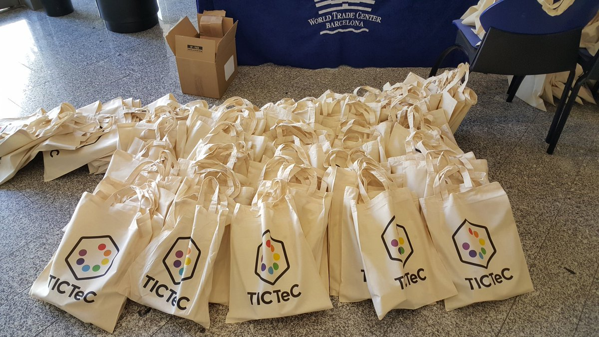 That's a lot of #TICTeC merch! https://t.co/clmW10JHnO