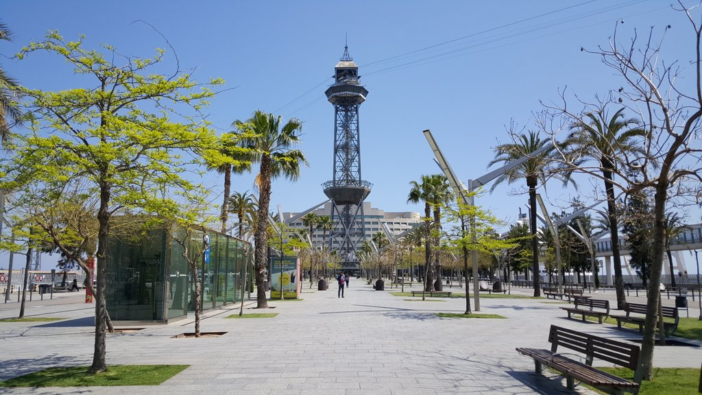 A lovely sunny stroll to Barcelona #TICTeC central https://t.co/HK4JW0TVxl