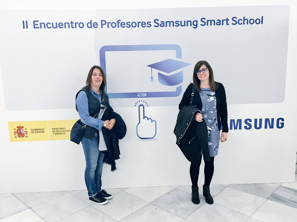 Empezamos!!! #SamsungSmartSchool https://t.co/IOvKsnGG1z