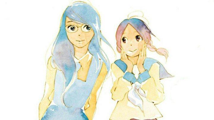 Hoy, #DíaVisibilidadLésbica, una recomendación: Aoi Hana (Flores Azules), publicado por @mwediciones. Preciosa. https://t.co/lKf3gjG6ML