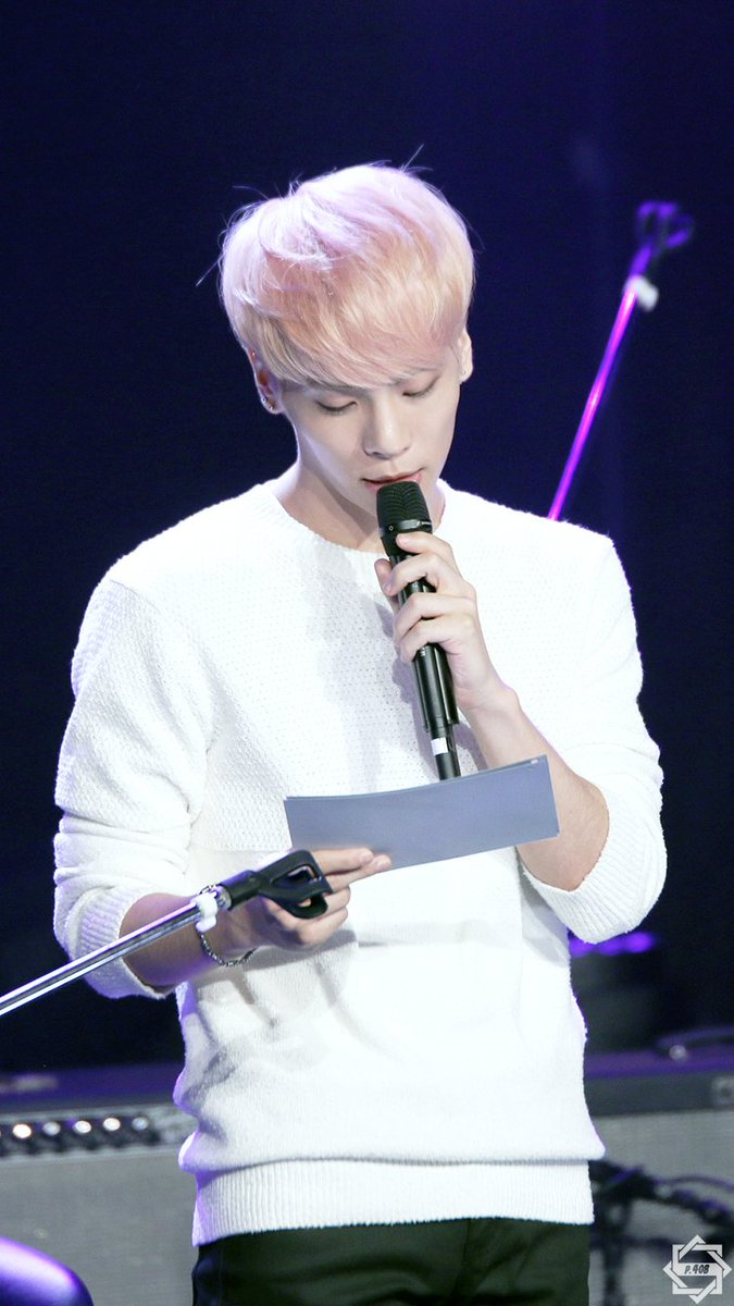 160426 Jonghyun @ MBC Live Concert - Blue Night Cg-r6q1UoAEMME4