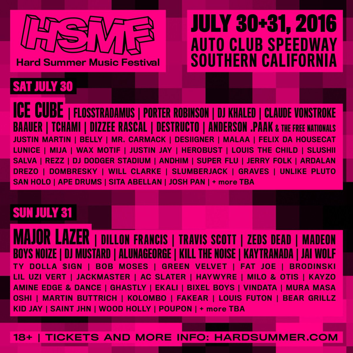 #HARDSUMMER    Do not look at the line up.    Listen to it here :::  https://t.co/P5kXRSULZW @Spotify https://t.co/75xOV4rr9I