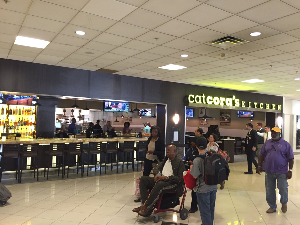 """hbf on twitter: """"cat cora's kitchen is open at atl airport"""