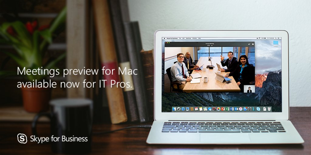 We are excited to announce the first stage of the #Skype4B Mac Public Preview: https://t.co/3udW7WakXz https://t.co/JJB1rjJc1a