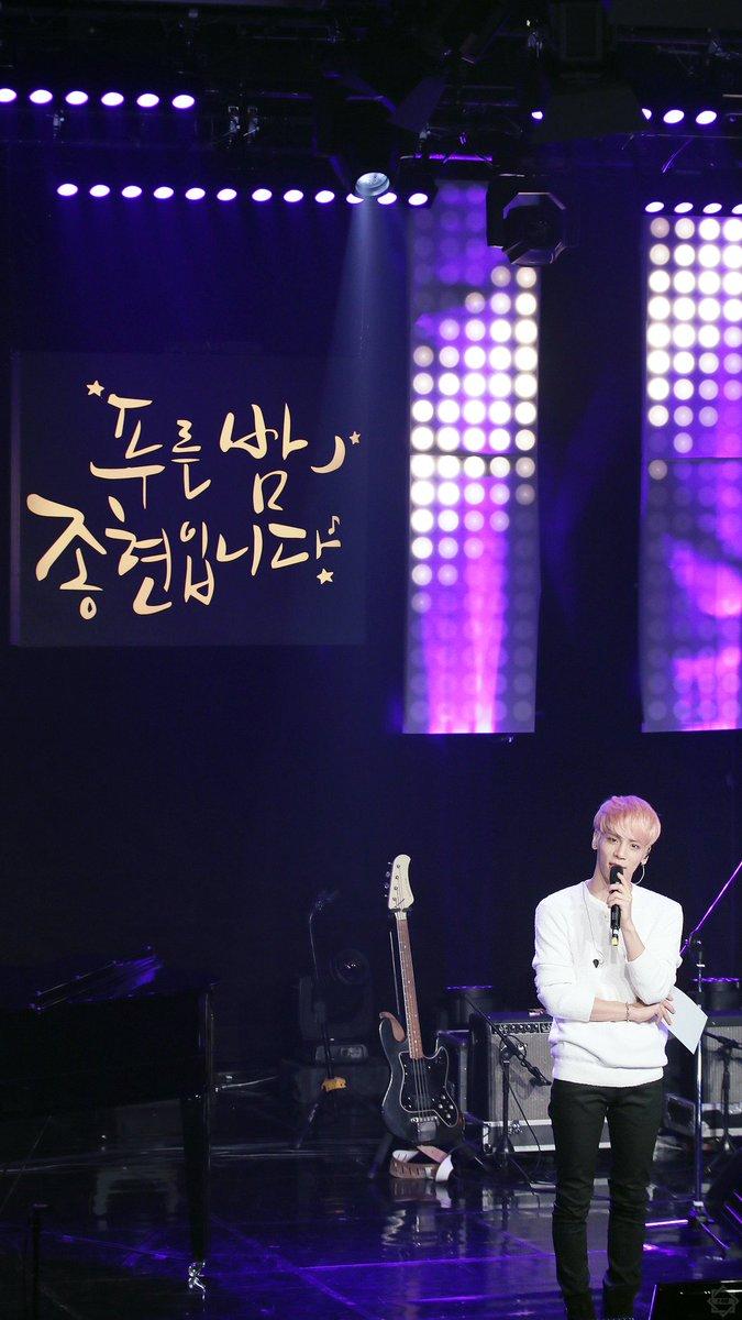 160426 Jonghyun @ MBC Live Concert - Blue Night Cg-x9qHUUAADTd5