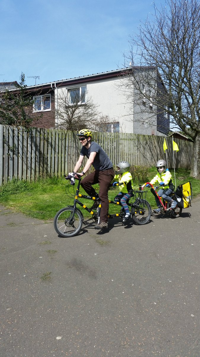 What will #POP2016 yesterday I'm a bit late getting to #schoolrunstories but here goes  We use a tandem & Tag-a-long https://t.co/zD7xUspIWx