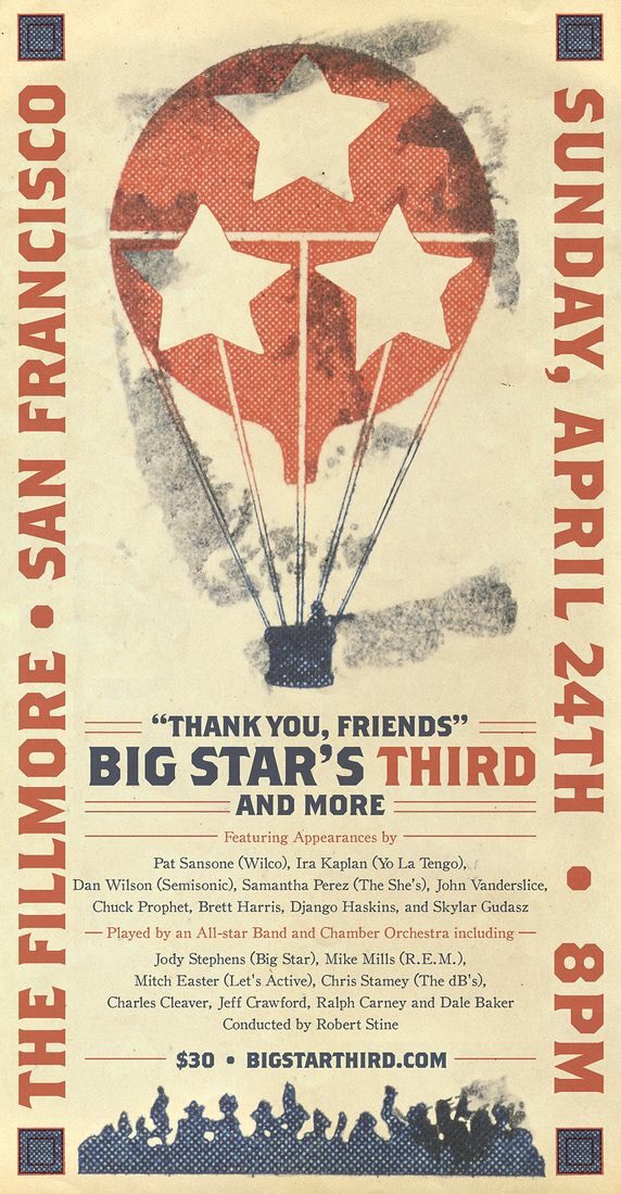 Big Star's Third, the Fillmore, April 24, 2016