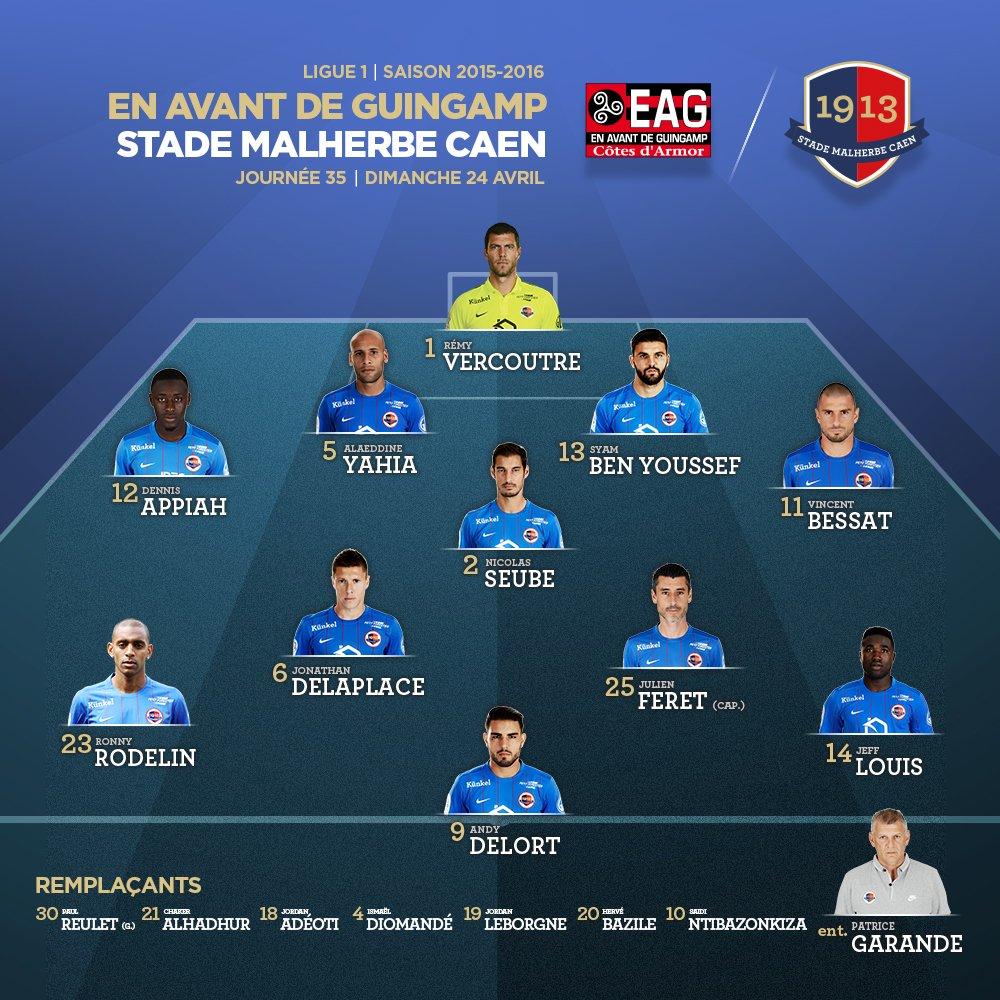 [35e journée de L1] EA Guingamp 1-1 SM Caen Cg0GcN3WgAA5pNG